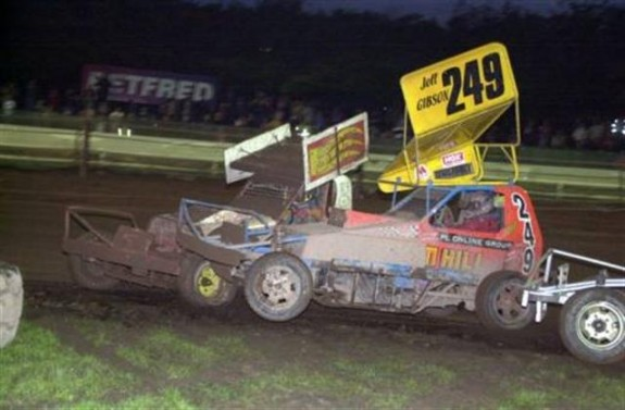 Action from Belle Vue 12th Oct. 2008