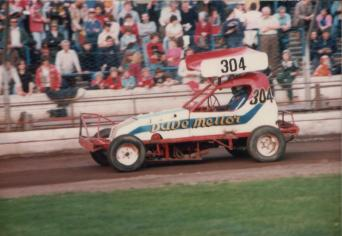 Dave Mellor (304). Photo courtesy of Martin Fitzgerald
