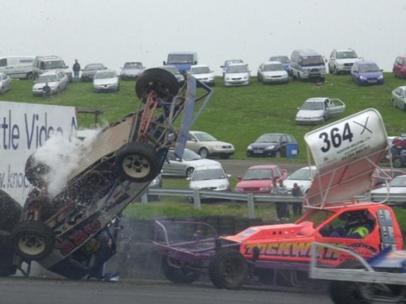 Surely a contender for Crash Of The Year? (Photo: Colin Casserley)