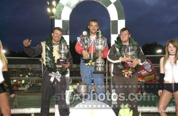 Andy Smith (391) Win's 2006 World Final at Coventry.