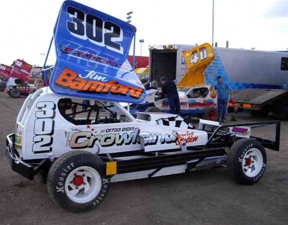 Jim Bamford (302). Photo Michael Cotterell