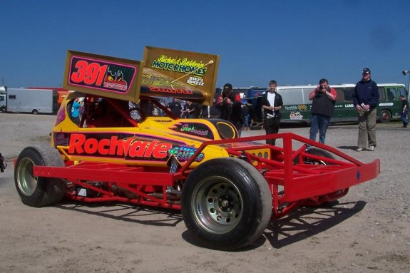 Andy Smith's 2009 Tar Car. Photo courtesy of Martin Fitzgerald.