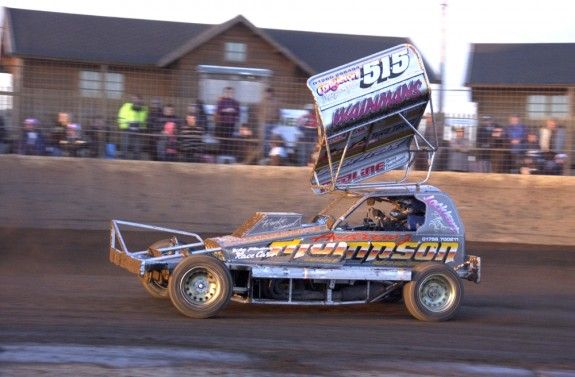 Final winner Frankie Wainman jnr (515)