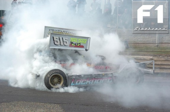Frankie Wainman Jnr Celebrates winning the 2009 UK Open. Photo Colin Casserley