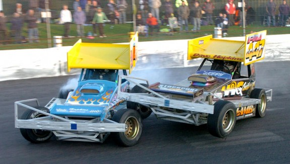 Steve Hopkins (347) and Dave Hopkins (447). Photo courtesy of Paul Tully.