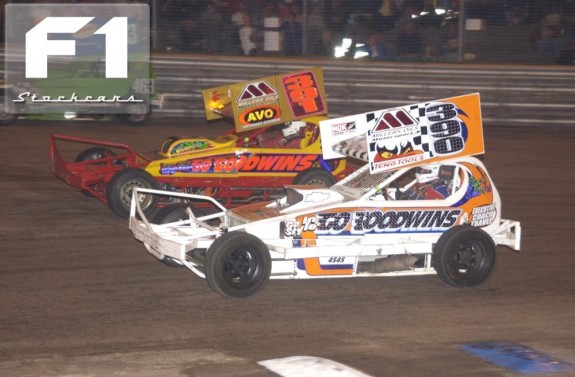Andy (391) and Stuart Smith (390) side-by-side at Birmingham. Photo Colin Casserley.