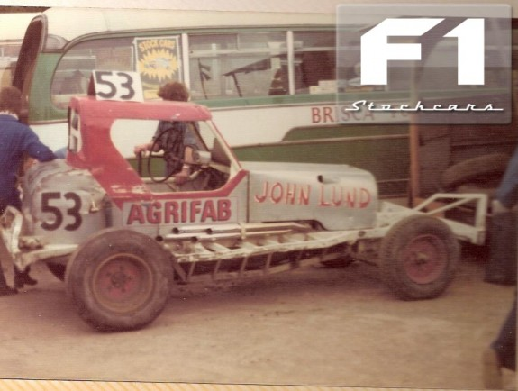 Early John Lund Car from the 1970's. Photo Colin Casserley.
