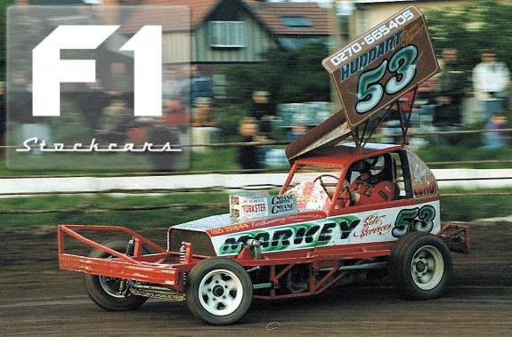 The 1993 car in action. Photo Paul Tully.