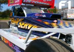 In Close Up: The 2010 Tar-Car of #107 Lee Robinson