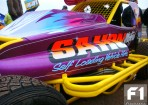 In Close Up: The New 'tube' shale car of #16 Matt Newson