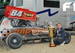 Exclusive: Tom Harris 84 tar car in process of being signwritten (updated)