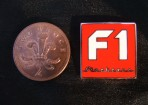F1 Stockcars.com Enamel Badge