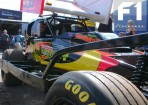 In Close Up: The Shale (raced on Tarmac) Car of Stuart Smith (390)
