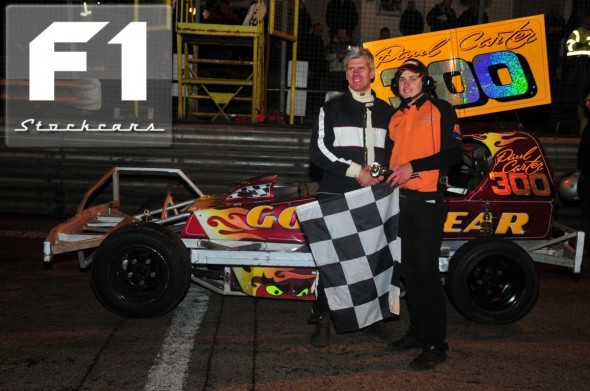 Paul Carter 300 takes his second GN win in as many meetings. Photo Steve Botham