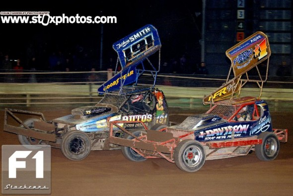 Josh Smith 191 and Lee Fairhurst 1/217 battle for the lead. Photo Colin Casserley