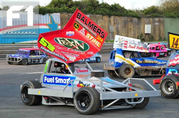 the new tarmac car of John Lund 53. Photo Steve Botham