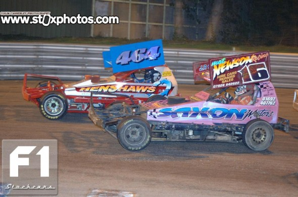 Mat Newson 16 on his way to victory. Photo Colin Casserley