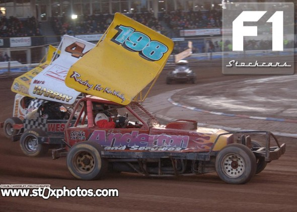 Driver of the Month leader Nigel Whalley. Photo Colin Casserley
