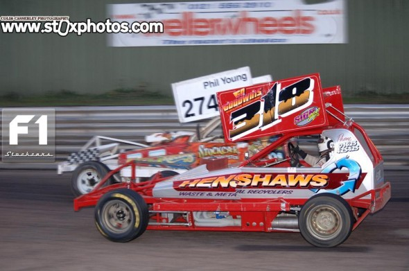 Rob Speak 318. Photo Colin Casserley