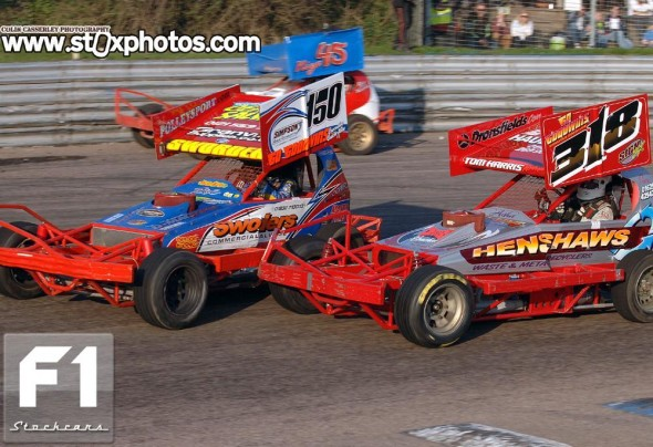 Mick Sworder 150 and Rob Speak 318. Photo Colin Casserley