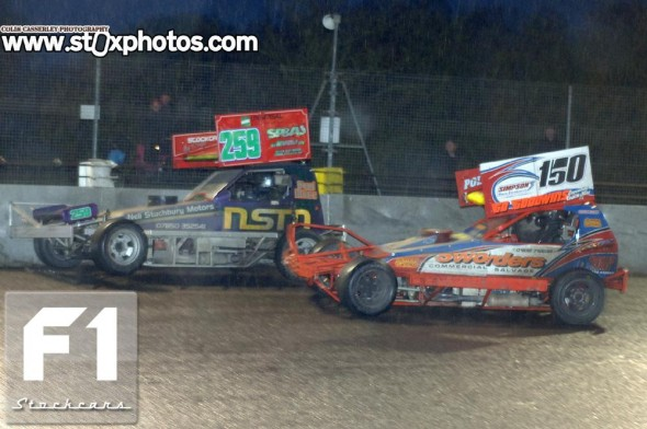 Mick Sworder and Paul Hines. Photo Colin Casserley