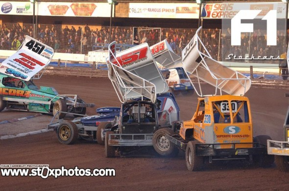 Whites and Yellows race. Photo Colin Casserley