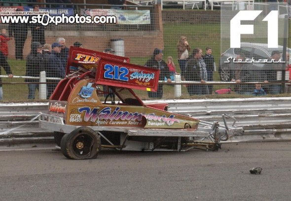 More damage for Daniel Wainman 212. Photo Colin Casserley