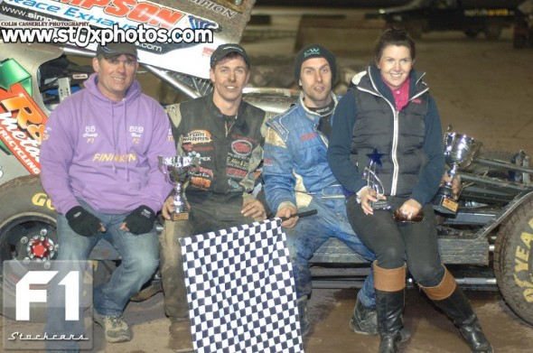 Karen Barker Memorial final winner Craig Finnikin. Photo Colin Casserley