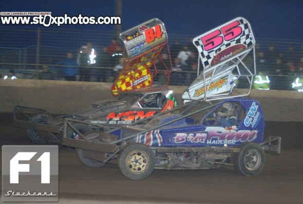 Craig Finnikin and Tom Harris. Photo Colin Casserley