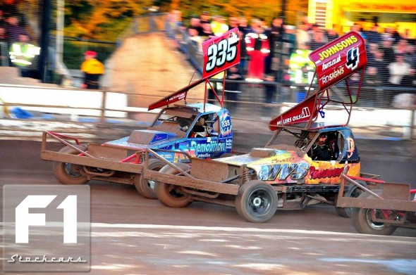 Dan Johnson and Mark Woodhull. Photo Steve Botham