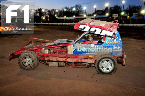 Mark Woodhull back on all four wheels. Photo Steve Botham