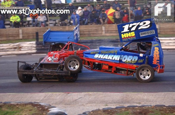 The defending champion comes under attack from Micky Randell