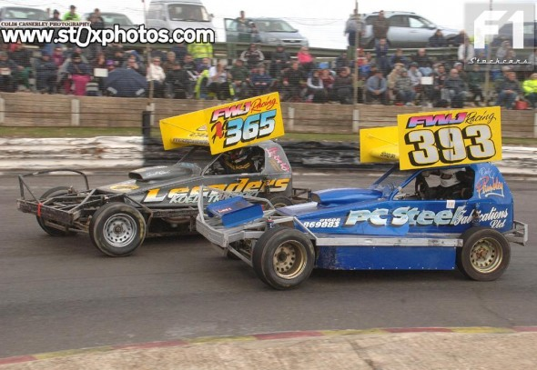 Two seventh place finishes for Joep Hendriks - seen here with  Dave Plumbley