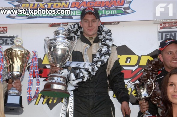 The 2013 F1 Stock Car British Champion LEE FAIRHURST