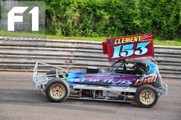 The new car of James Lund 153. Photo Steve Botham