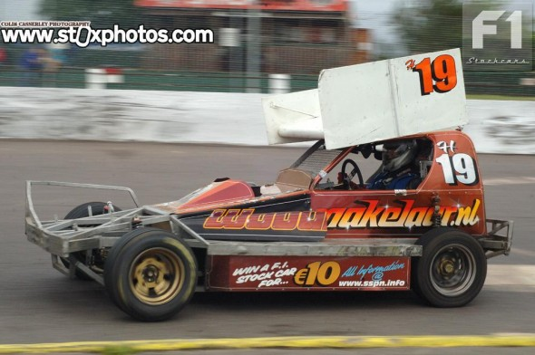 Gerrit Zwerver was one of two Dutch drivers to make the trip to Northampton.
