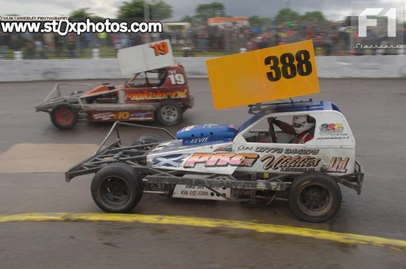 Paul Ford went back home to Scotland with a heat trophy.