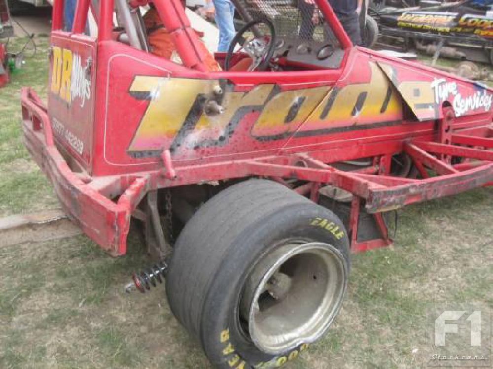 Damage for Mat Newson after a pile-up in turn two. (CD)