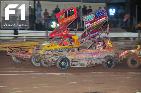 Daniel Wainman and Mat Newson. Photo Steve Botham