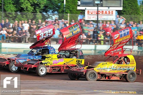 Mat Newson, John Dowson Jnr and Mark Woodhull. Photo Steve Botham