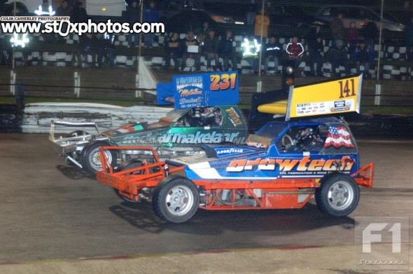 Carl Pickering was the man to beat in the torrential conditions at Skegness.