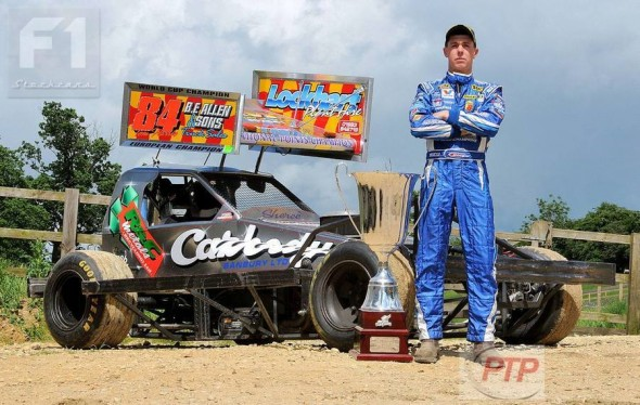 The defending 2012 World Cup champion, just before travelling to Venray for the 2013 event - he won that too!