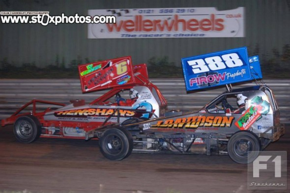 Stevie Hodgson was on his way to becoming a megastar of F1 in the 1990s, but he departed the BriSCA scene to race on the American ovals.