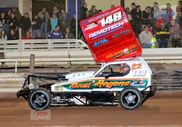 The new Danny Smidt car, one of Tom's exports to the Netherlands.