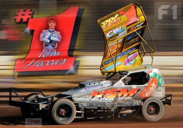 Paul Tully's promotional graphic of the 2013 World Champion.