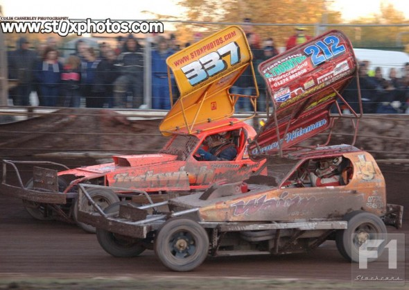A superb day for Danny Wainman.