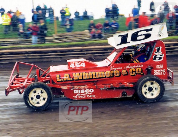 Mat Newson in one of his first F1 races. Skegness, 2001.
