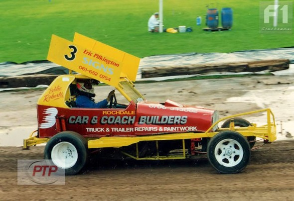 Eddie Roberts at Bradford in 1993.