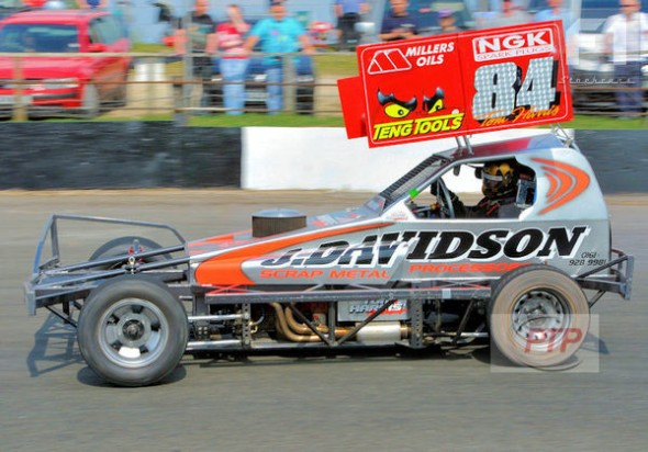 The very successful tarmac car at Buxton in April 2011.