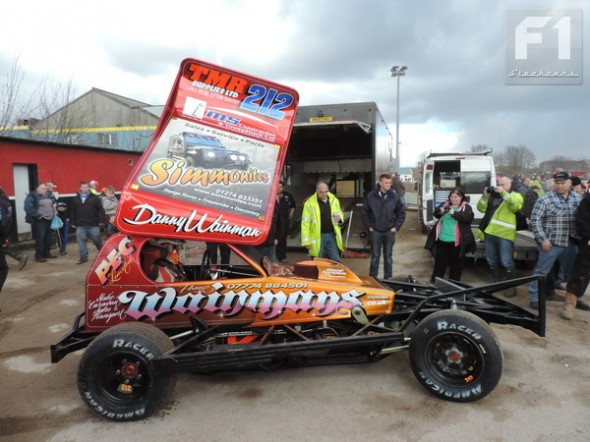 The refurbished Danny Wainman car is absolutely stunning, and it goes as well as it looks.